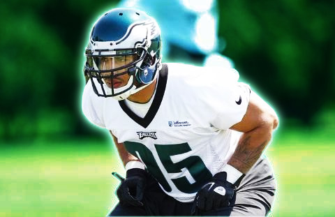 Mychael Kendricks at Eagles Mini Camp